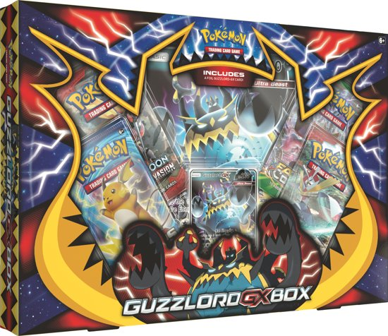 Pokémon Guzzlord GX Box - Pokémon Kaarten