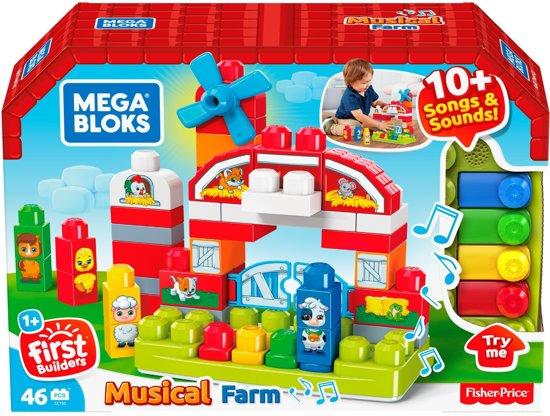 Mega Bloks Muzikale Boerderij - Constructiespeelgoed