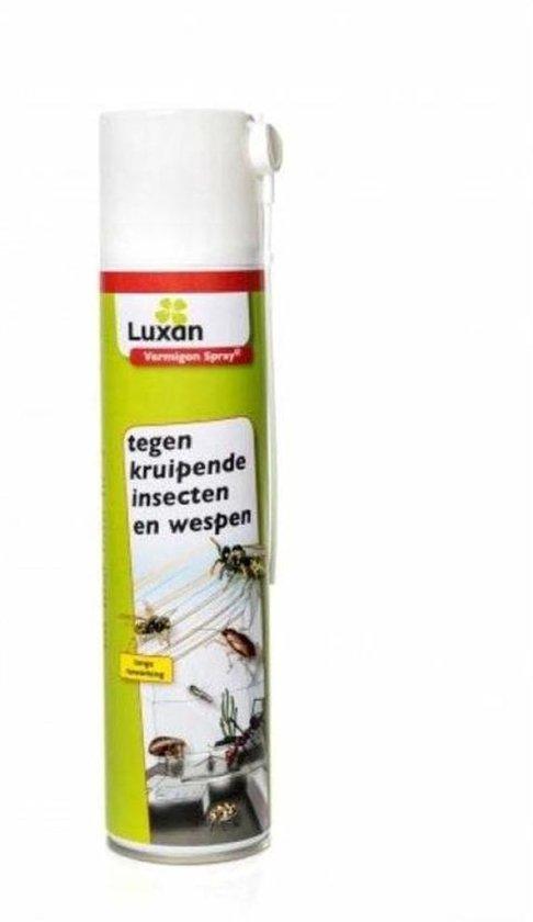 Luxan Vermigon spray tegen kruipende insecten