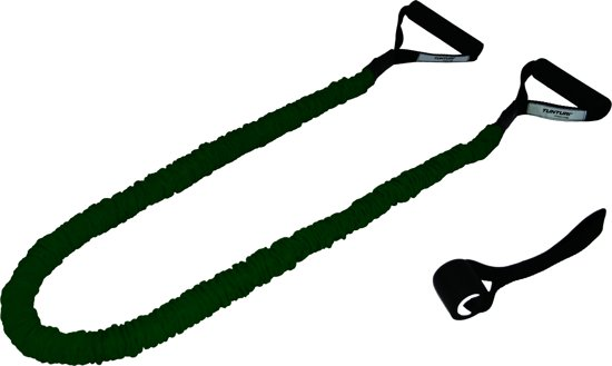 bol com tunturi tubing met beschermhoes suspension trianertunturi tubing met beschermhoes suspension trianer sling trainer medium weerstand groen