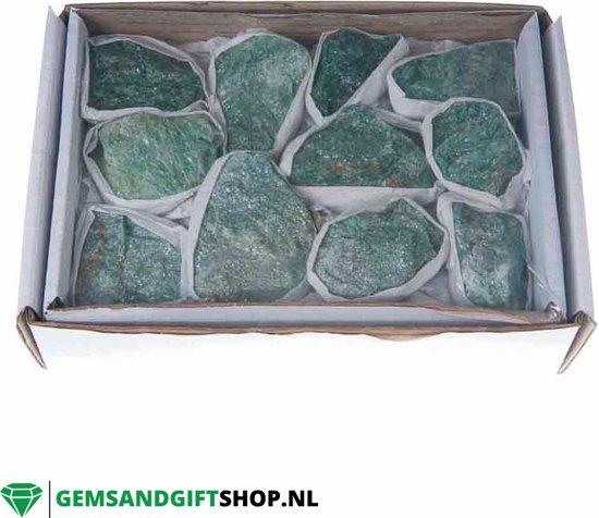 Doos met Fuchsiet edelstenen - GemsandGiftshop.nl