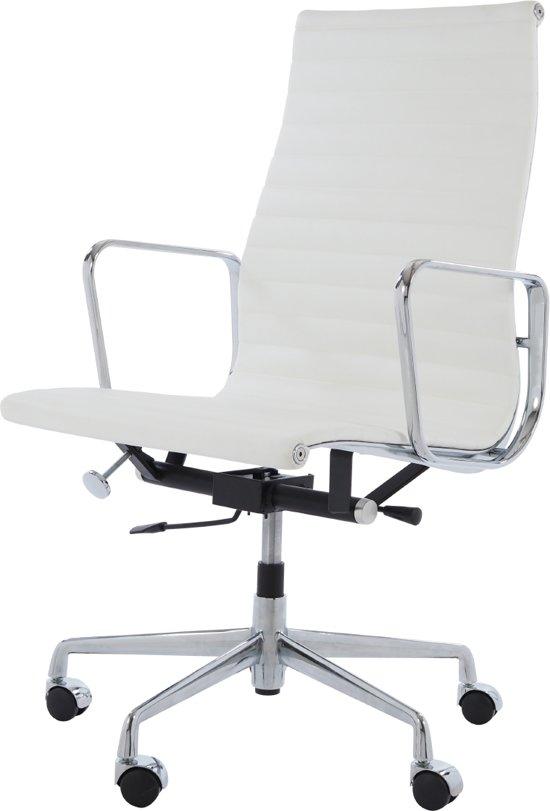 Design Bureaustoel Wit.Bol Com Design Bureaustoel Ea119 Wit