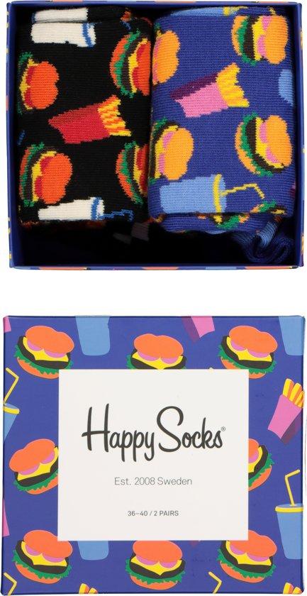 Happy Socks Special Hamburger Giftbox - Maat 36-40