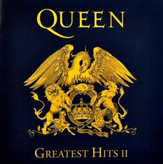 CD cover van Greatest Hits II van Queen