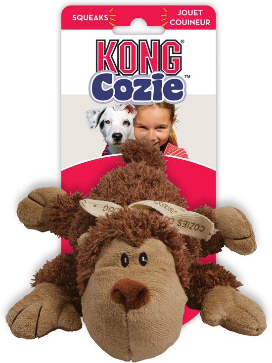 Kong Cozie Naturals Assortie - Kauwspeelgoed - Bruin