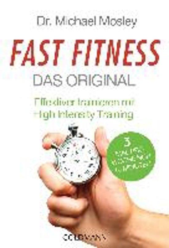 Boek cover Fast Fitness - Das Original van Dr. Michael Mosley (Paperback)