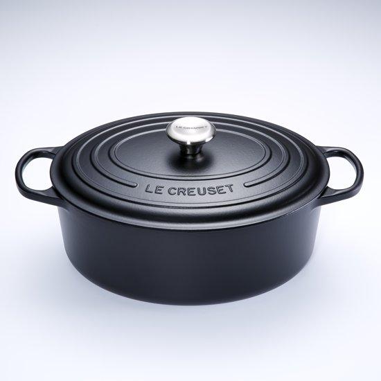 Le Creuset Signature Braadpan - 8,9 liter - 35 cm - Zwart