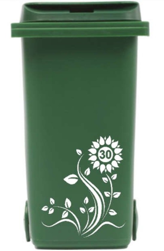 Geliefde bol.com | Sticker kliko / container bloem met huisnummer | Rosami OU06