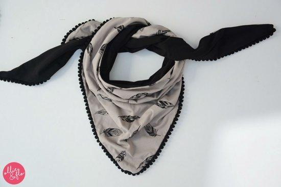 Driehoek sjaal Vera Black