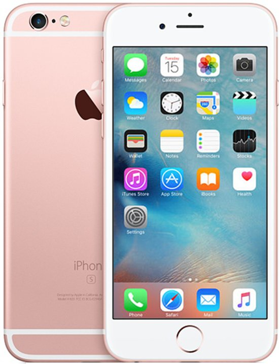 Apple iPhone 6s refurbished door Renewd - 16GB - Roségoud