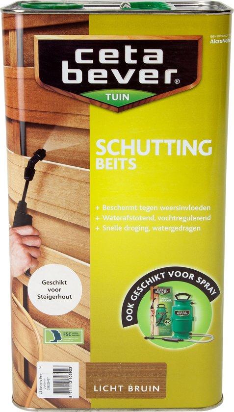 Cetabever Schuttingbeits - 5 liter - Lichtbruin