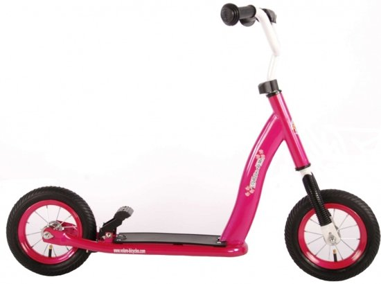 Volare Autoped 10 inch Roze