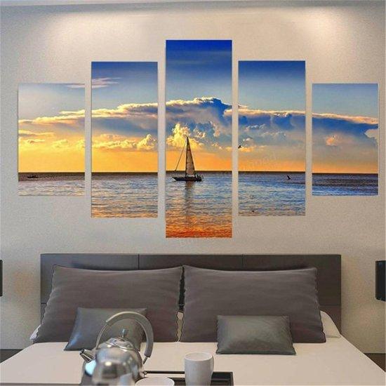 bolcom wanddecoratie zeilboot muurdecoratie