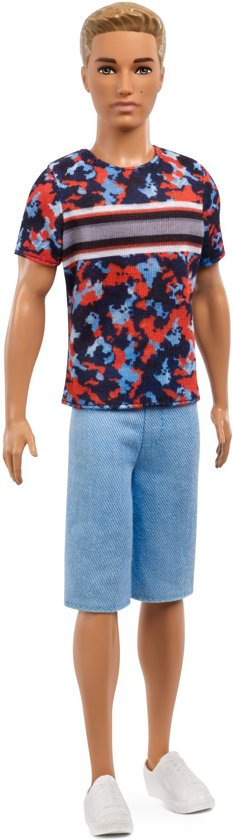 Barbie Ken Fashionistas Hyper Print - Barbiepop