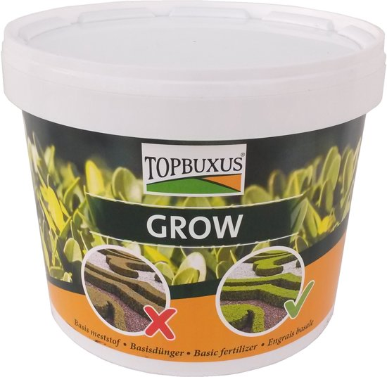 TOPBUXUS GROW 5kg voor 100m2 Buxus, geen gele blaadjes