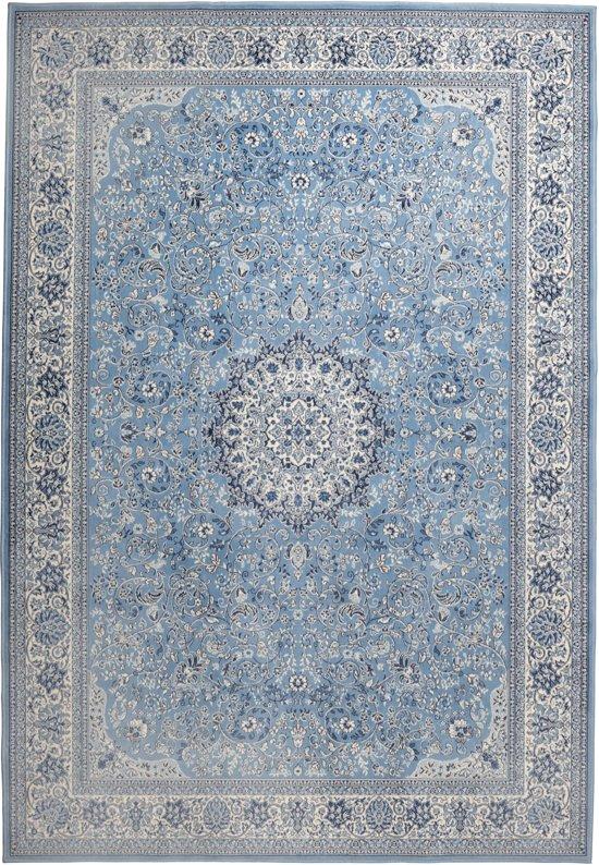 Zuiver Milkmaid - Vloerkleed - Blauw - 170x240 cm