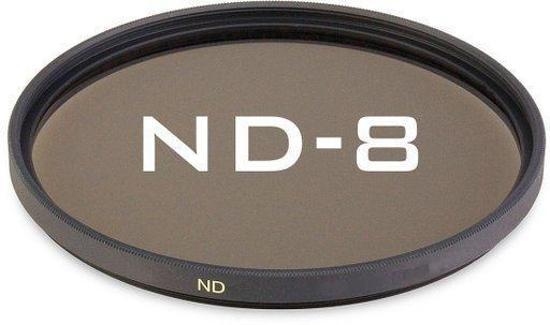 55mm ND8 Lensfilter / Grijsfilter / Neutral Density Lens filter  / UwCamera Huismerk