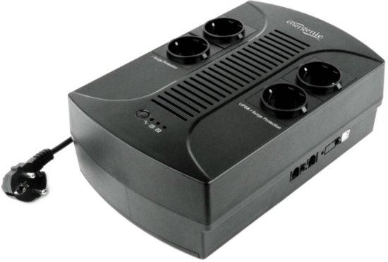 EnerGenie EG-UPS-001 - UPS met AVR, 650 VA