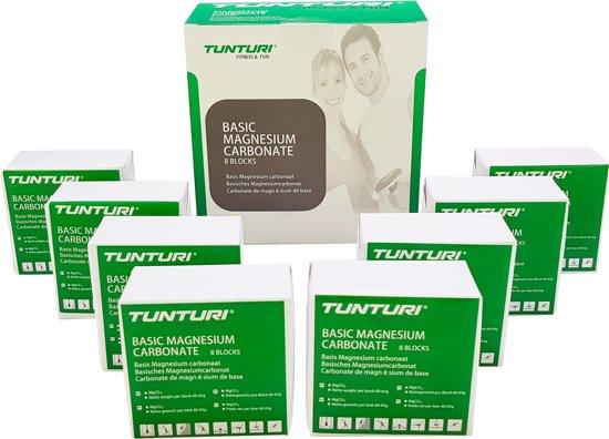 Tunturi Magnesium - Magnesium Poeder - Magnesium Turnen - Magnesium Blok - 8 blokken