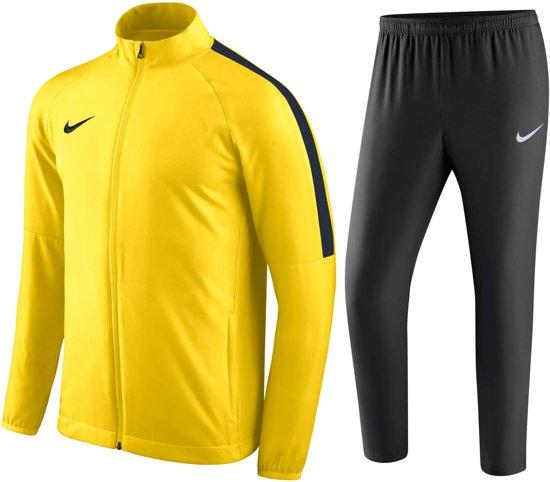   Nike Academy 18 Trainingspak Heren Maat S Geel