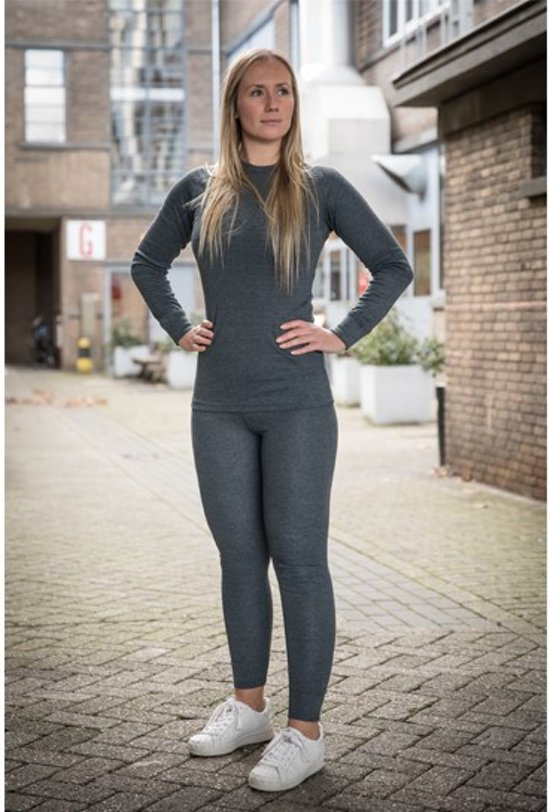 Thermo kleding - Dames - Maat L - Shirt en Broek - set