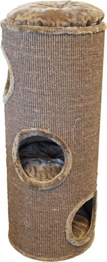 Merkloos Klimton Sisal 3 Gaats Mokka / Bruin - 100 CM