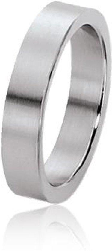 Dito relatiering - staal - glanzende zijkant - mat - vlak - 5 mm breed - maat 68