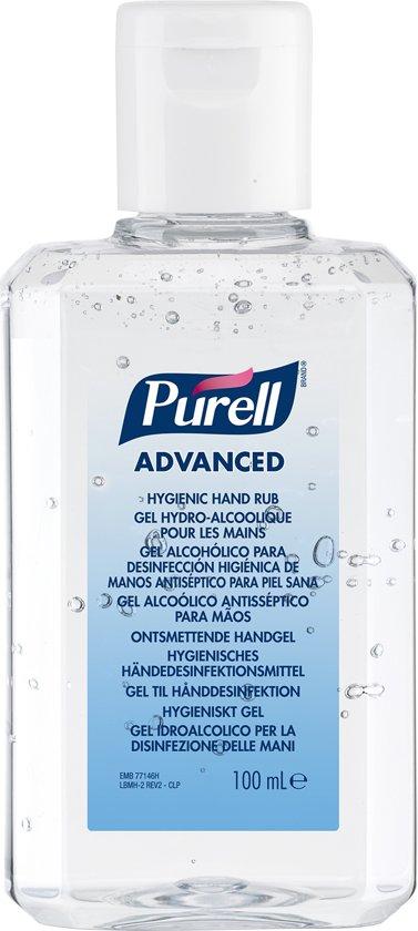 Gojo Purell Advanced desinfecterende handgel 24 x 100 ml