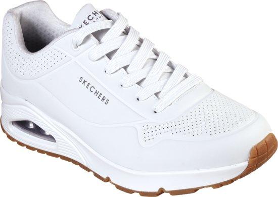 Skechers Uno Stand On Air Heren Sneakers - Wit - Maat 43