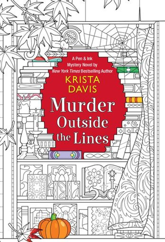 Boek cover Murder Outside the Lines van Krista Davis (Onbekend)