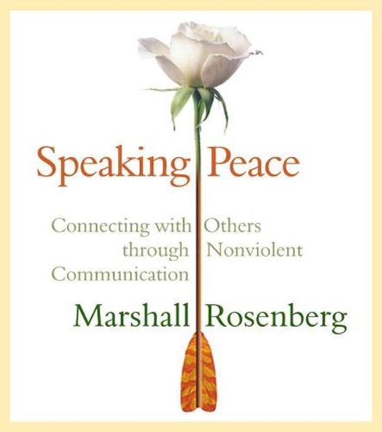 Boek cover Speaking Peace van Marshall B. Rosenberg (Onbekend)
