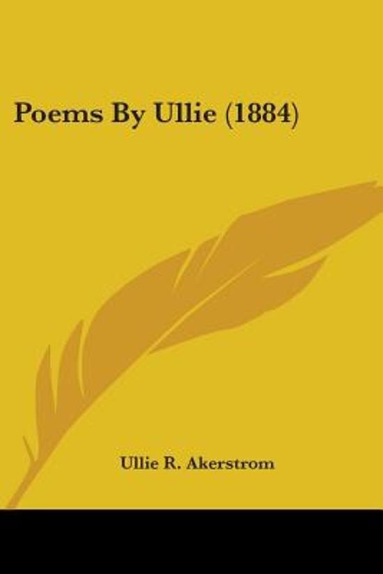 Poems by Ullie (1884)
