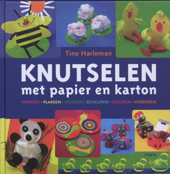 Bekend bol.com | Knutselen Met Papier En Karton, Tine Harleman  #DD69