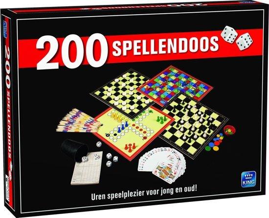 Afbeelding van 200 Spellendoos - Grote Doos met 200 verschillende Spellen - Inclusief Handleiding speelgoed