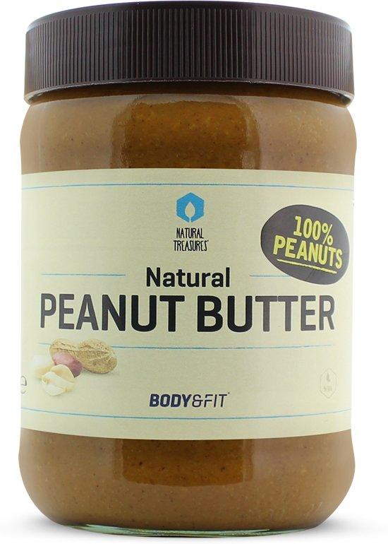 Body & Fit Superfoods Naturel Pindapasta / Pindakaas