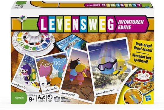 Bolcom Levensweg Avonturen Bordspel Hasbro Speelgoed