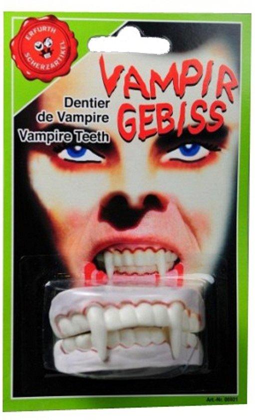 Horror vampier tanden / gebitje boven en onder - dracula gebit