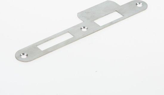 Nemef Sluitplaat RVS rond type p4139/17 DIN rechts