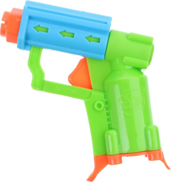 Toi-toys Propellor Gun Met Foampijlen 13 Cm Groen