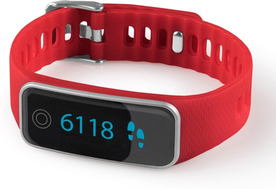 Medisana Vifit Touch Activity Tracker - Rood