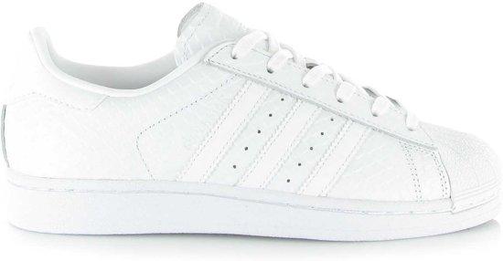 adidas superstar w zwart wit