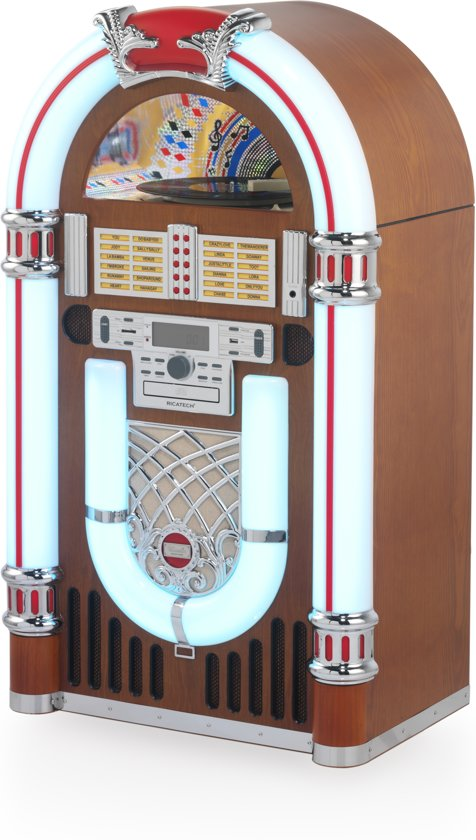 RICATECH RR3100 Full size Classic LED Bluetooth Jukebox