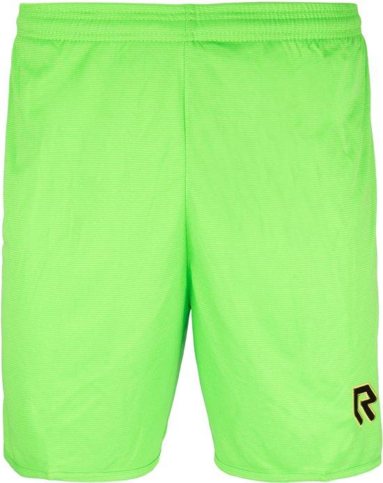 Robey Shorts Backpass - Voetbalbroek - Neon Green - Maat 152