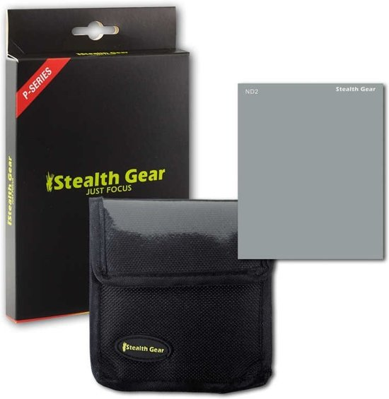 Stealth Gear ND-2 Neutrale-opaciteitsfilter voor camera's