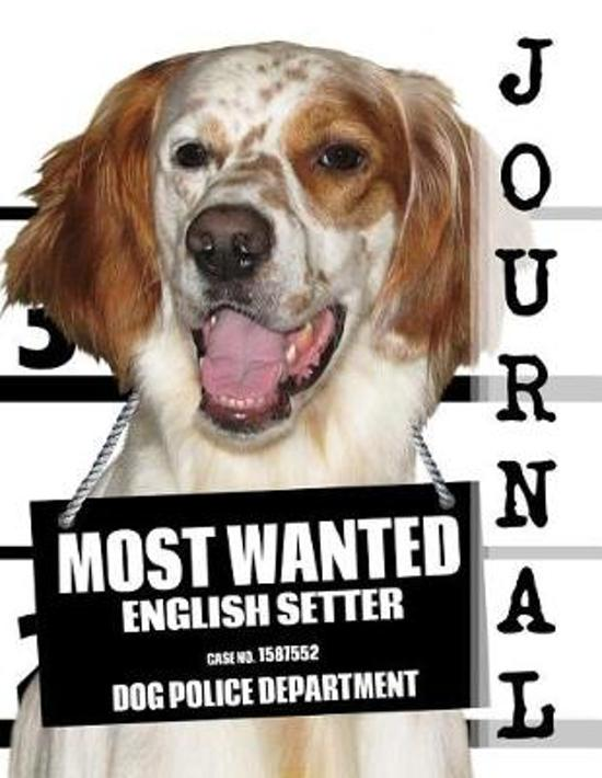 Most Wanted English Setter Journal