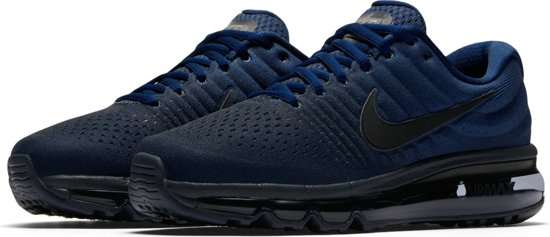 Nike Air Max 2017 Sneakers Kinderen - Binary Blue/Black