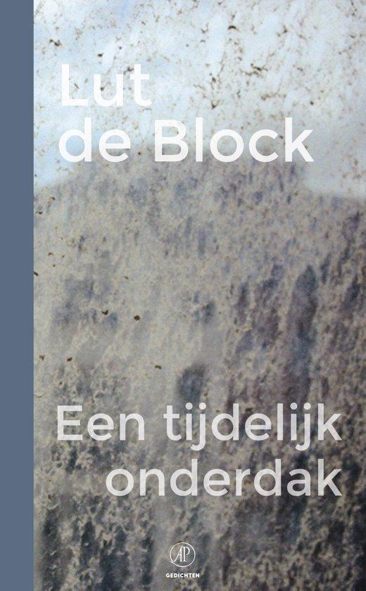 Boek cover Een tijdelijk onderdak van Lut de Block (Onbekend)