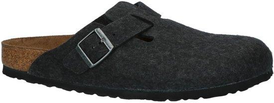 Birkenstock - Boston - Comfort slippers - Heren - Maat 40 - Grijs - Anthracite W