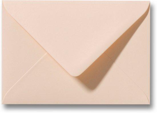 Envelop 15,6 x 22 cm Abrikoos 100 stuks