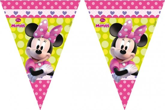 Minnie Mouse vlaggenlijn 3 meter